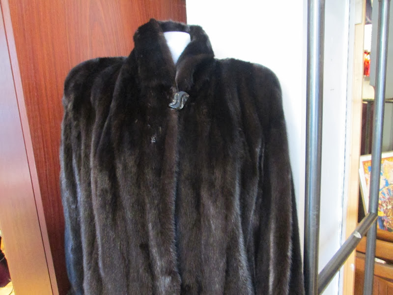 Mink Fur Full Length Coat