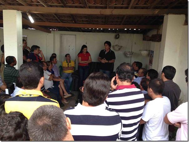 Equador.Reunião com os setores da sociedade III