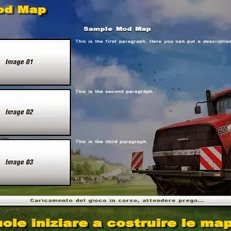 Farming simulator 2013 - Sample Mod Map