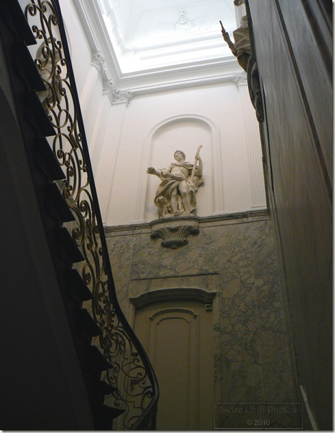 17th century staircase Netherlands