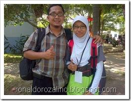 Bersama Siswa Kreatif, Peserta  Festival Lomba Seni Siswa Nasional, FLS2N dari Riau (2)