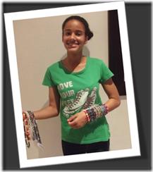 Brescia House Grade 7 Beading Update – an entrepreneur in the making!