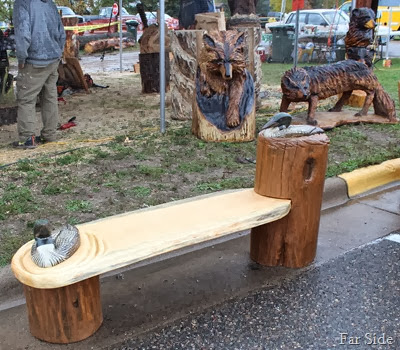 I want this bench