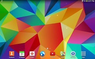 Screenshot of Galaxy S5 3D Live Wallpaper