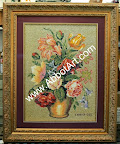Fabrics and Linen Artwork Picture Framing