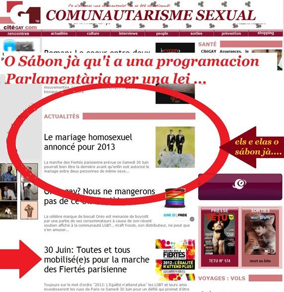 comunautarisme sexual
