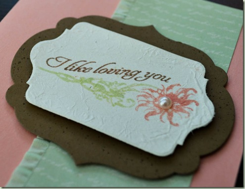 Stampin'Up! Venetian Romance Chalk talk close