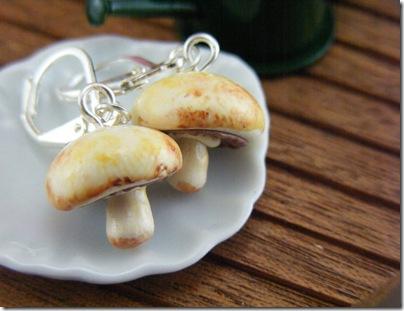 cercei in forma de ciuperci