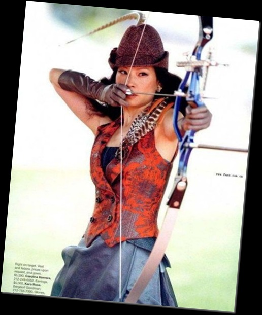 Lucy Liu' Fashion Olympics 2008 Photoshoot (3)