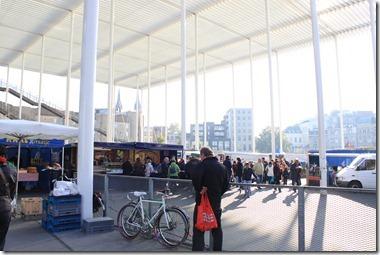 Antwerpenの朝市