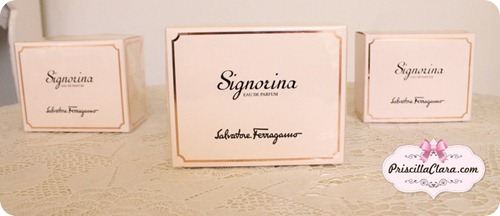 Signorina by Salvatore Ferragamo box copy