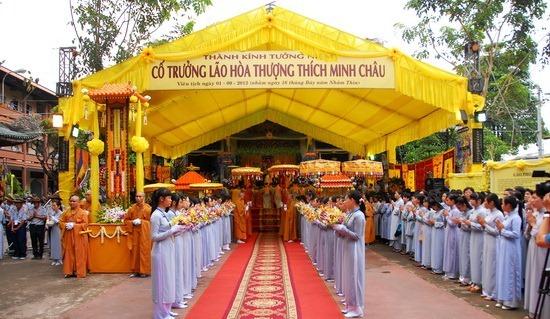 Toàn cảnh thông tin tang lễ trưởng lão Hòa thượng Thích Minh Châu