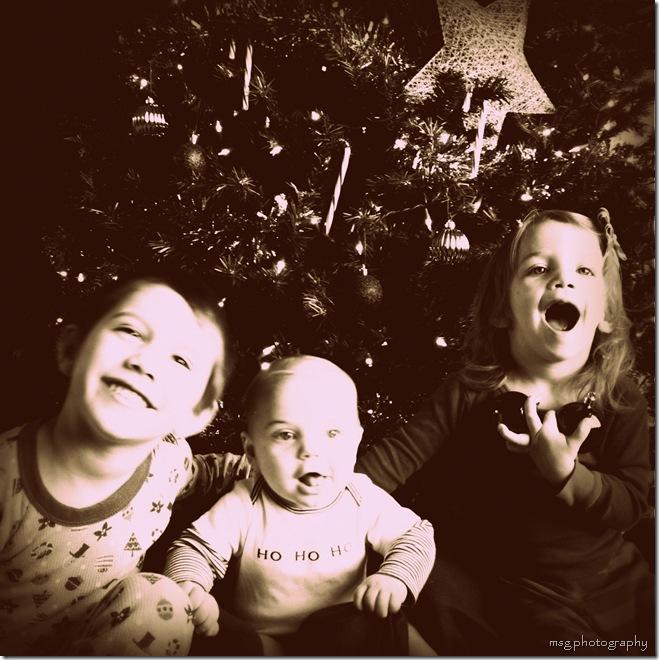 merry family vintage siblings