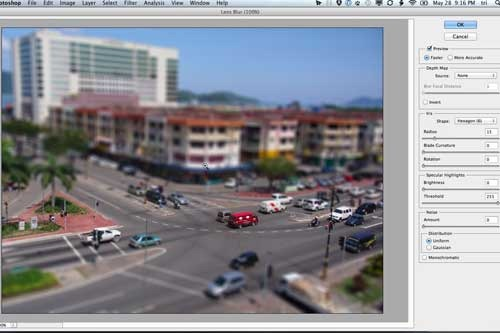 tutorial tilt shift