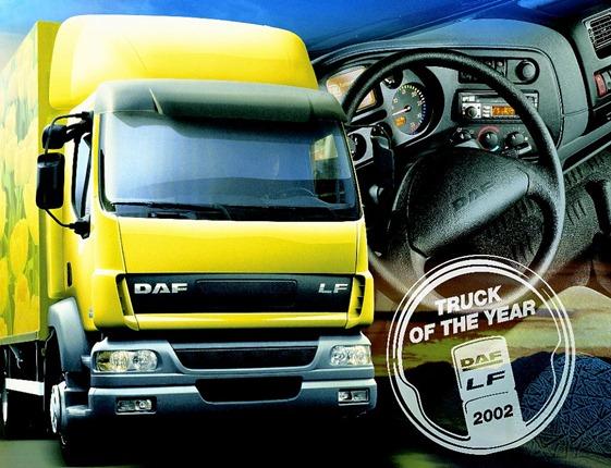 Camiones DAF camión del año