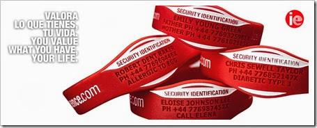 identityessence, la pulsera: seguridad esencial a la hora de hacer deporte.