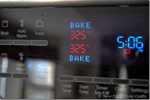 Bake-temperature