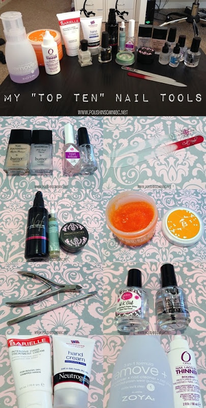 polish insomniac's Top 10 Nail Tools
