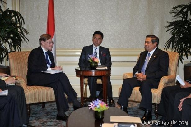 foto keseharian Presiden Indonesia Susilo Bambang Yudhoyono (24)