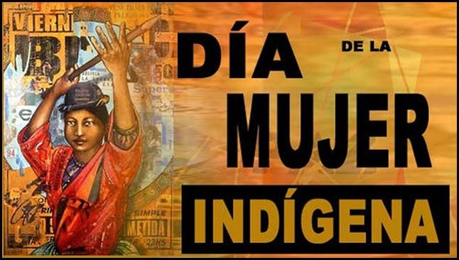 Día de la mujer indígena