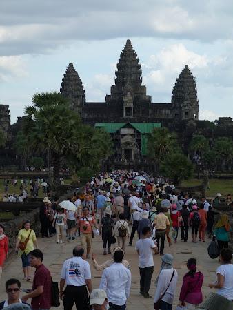 Templul Angkor Wat in Cambogia