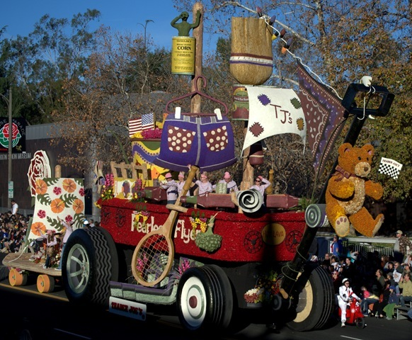 trader joes float rose parade