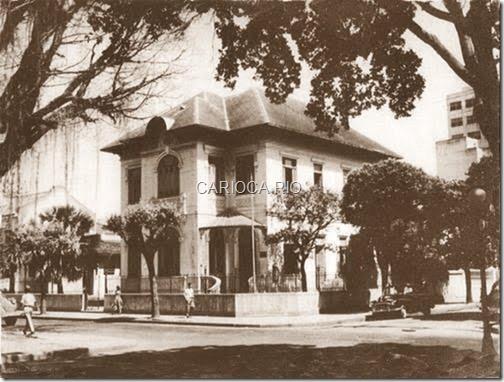 Conservatório de Música, Centro, Niterói - Anos 50