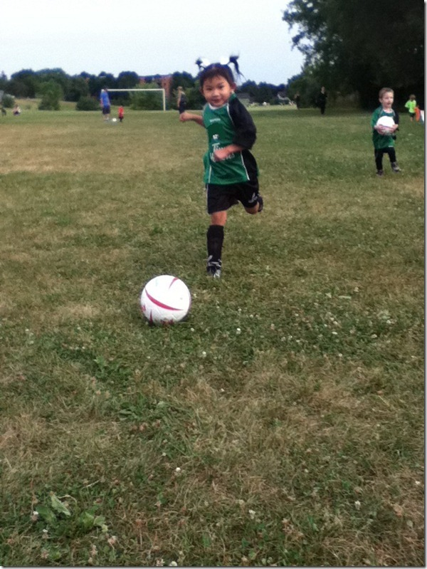 Soccer - First Game ever   July 19, 2012 - Copy