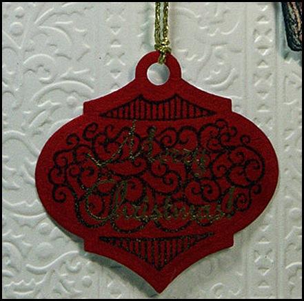 chickbag ornament