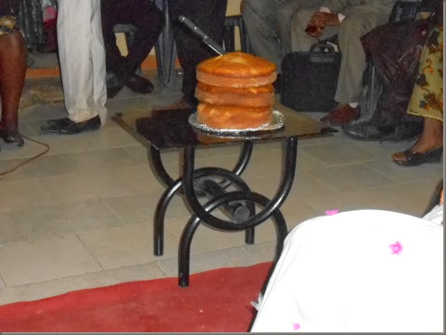 Sidoni's Wedding cake