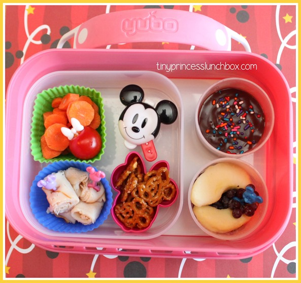 Hidden Minnie #Yubo lunch! #schoollunchideas #bento #mickeymeal