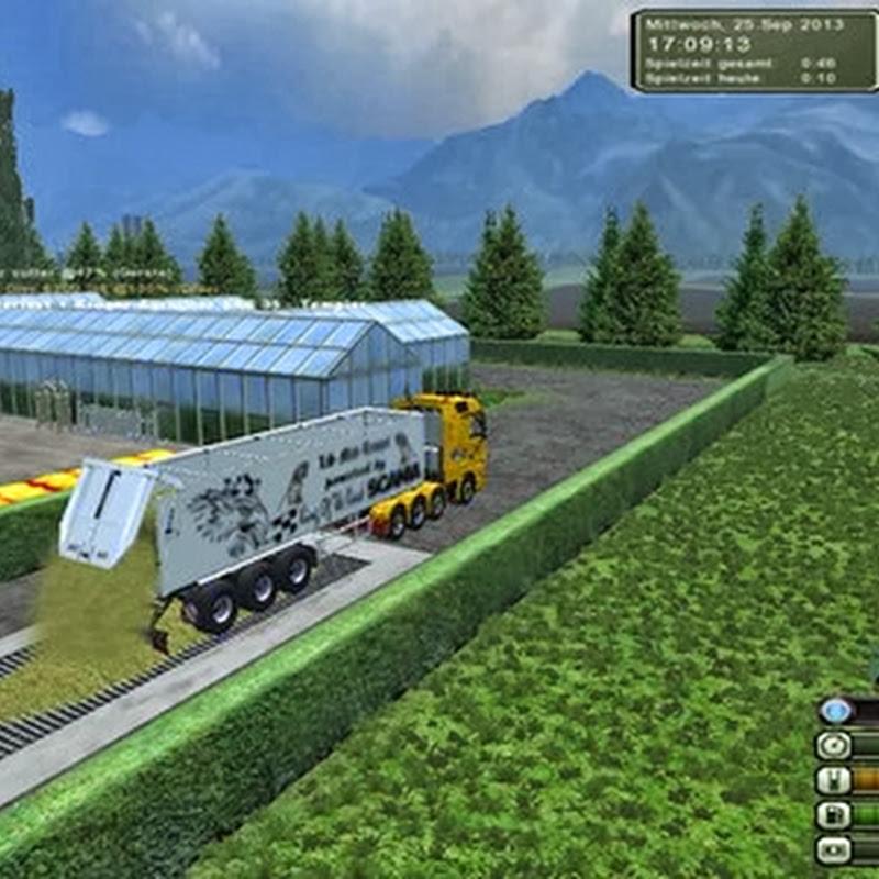 Farming simulator 2013 - Bavarian Forest Map v 1.0