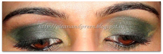 Smokey Green Eyes - Method