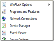 Usare il menu Win+X di Windows 8 su XP, Vista e Windows 7