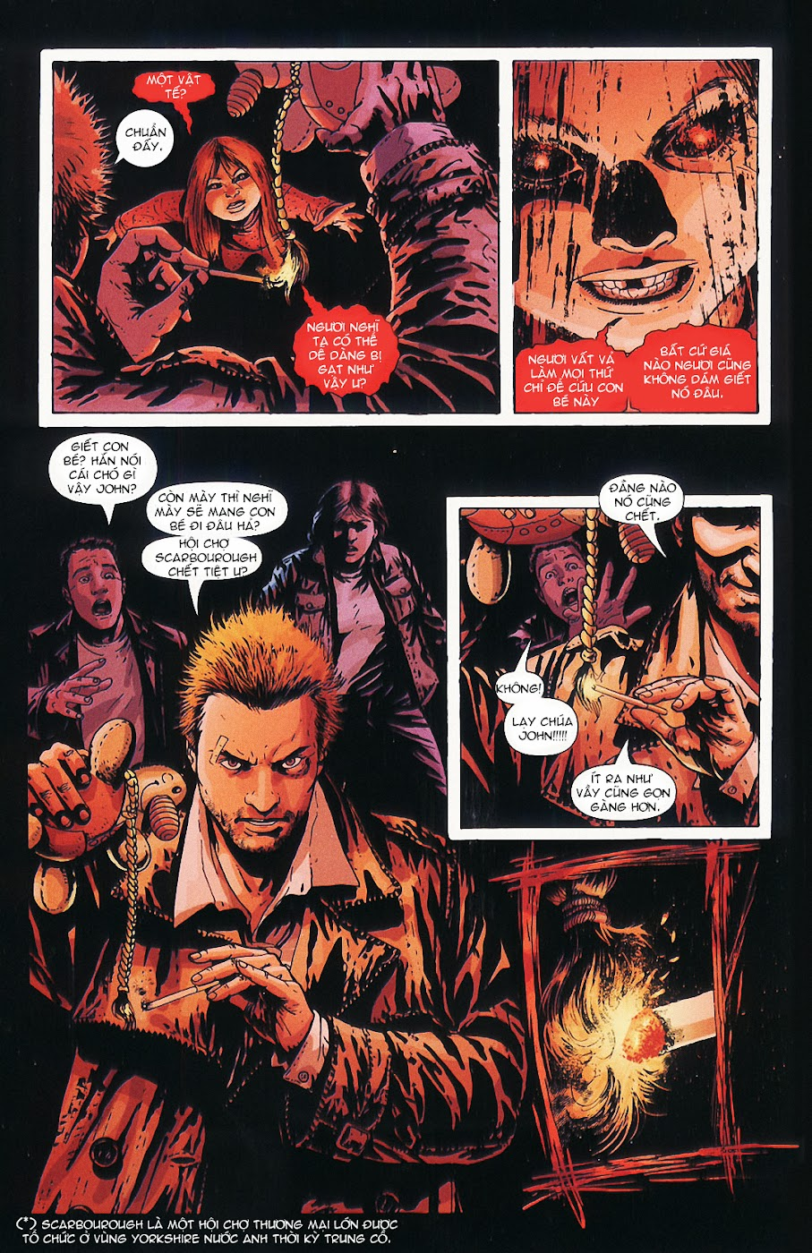 Constantine - All his engines chap 5 - Trang 21