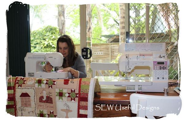 Alisha sewing 1