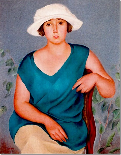 Josep de Togores i Llach -La hermana del artista_ 1922