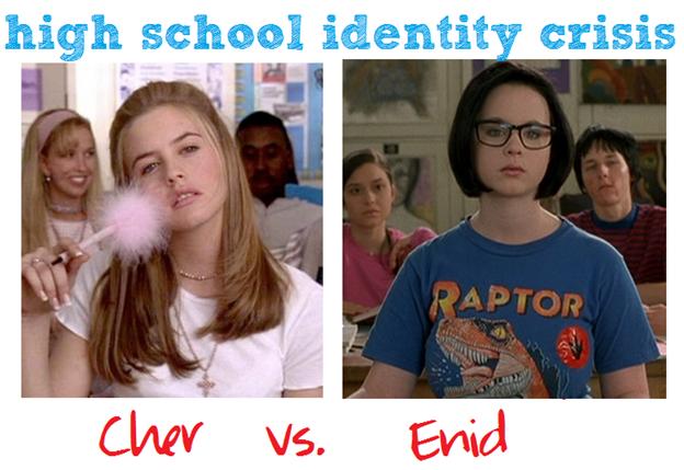 high school identity crisis