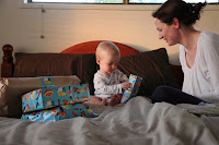 Opening presents with Mummy