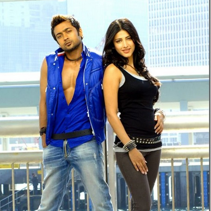 Suriya & Shruti Hassan's 7am arivu movie latest stills