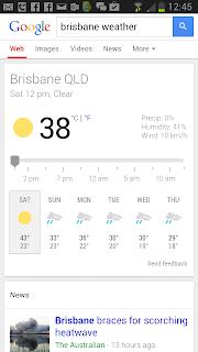 Brisbane高溫!
