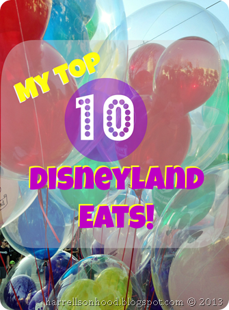 top 10 disneyland eats