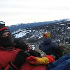 04.01 15-26 На вершине горы Медвежья. Отсюда начался продолжительный траверс хребта Машак.JPG