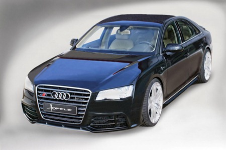 2011 Audi A8 D4 SR 8 by Hofele-Design up front view