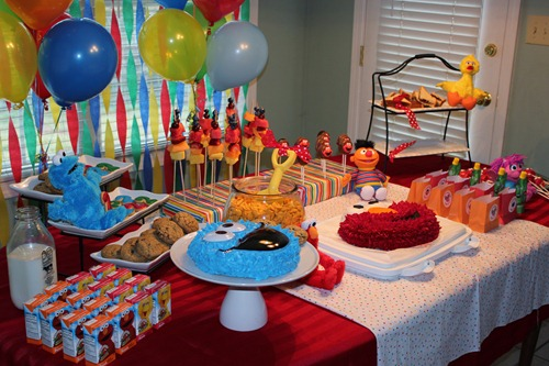 Diy Sesame Street Birthday Decorations Best Cars 2018