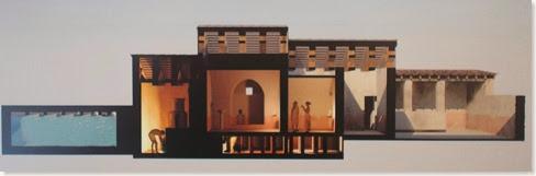 Reconstrucción probable de la villa romana de playa del Albir