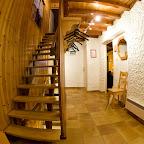 Corridor 1er étage chalet L'Orée du Bois - Location - Les Carroz