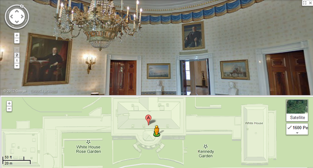 The-White-House-Google-Maps