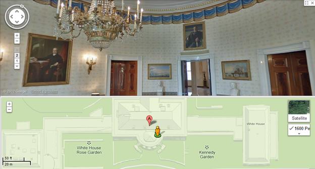 The-White-House-Google-Maps