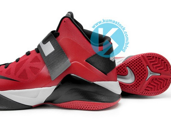 Upcoming Nike Zoom Soldier VI 6 525015600 RedBlackGrey